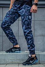 Штаны мужские демисезонные камуфляжные Rextim Criminal dark blue camo. Мужские штаны карго