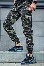 Штаны мужские демисезонные камуфляжные Rextim Criminal Army. Мужские штаны карго камуфляж