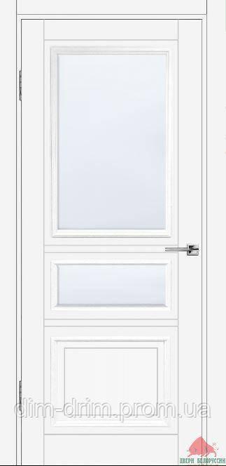 Двері Білорусії Вена ПЗ білий ясінь 80