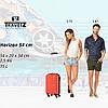 Чемодан TravelZ Horizon (S) Fiesta Orange, фото 9