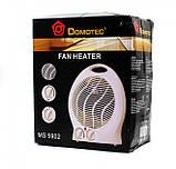 Тепловентилятор Domotec MS 5902 2000 Вт, фото 4