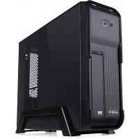 Корпус CS308B Black (Desktop),2USB+audio, mATX/mITX