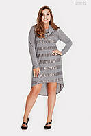 Платье Эвора (серый)