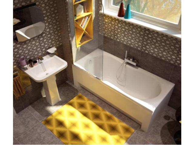 Ванна KOLLER POOL Malibu 150х70 + ножки + сифон