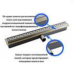 Душевой канал Cedor Super Slim Sea 70 см, фото 4
