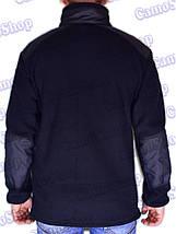 Кофта тактическая флисовая синяя (ДСНС, пожарники), фото 3