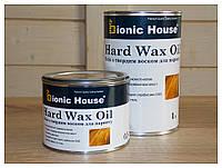 """"""" Hard Wax Oil"""" масло с твердым воском для деревянных полов 1л."""