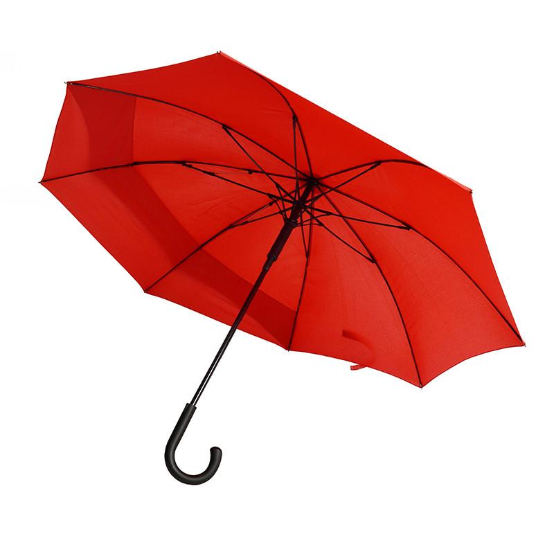 Зонт-трость полуавтомат BACKSAFE. 4 цвета