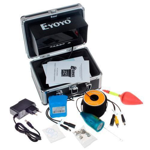 Подводная камера для рыбалки Eyoyo 1000TVL в кейсе