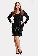 Платье Бордо (чёрный)