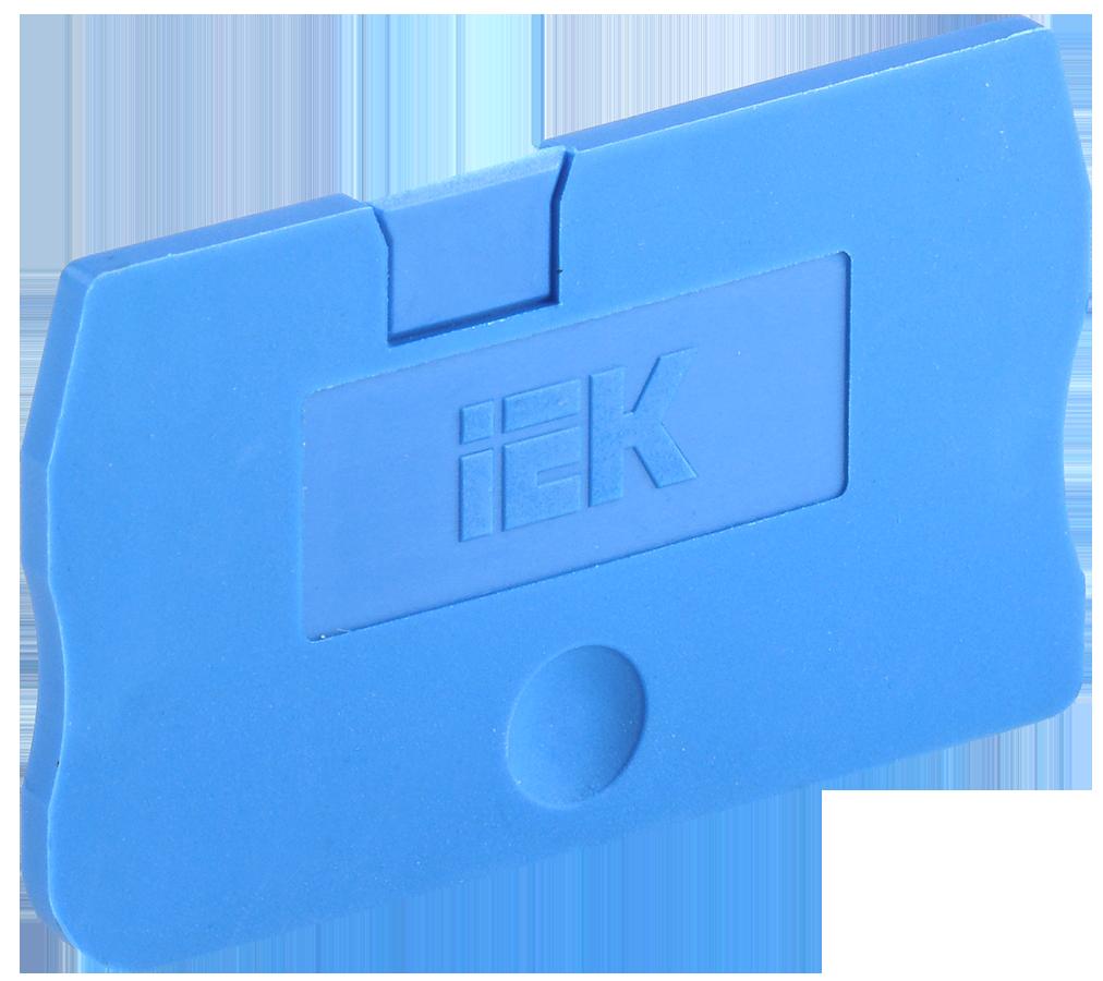 Заглушка для КПИ 2в-1,5/2,5 синяя IEK (YZN11D-ZGL-002-K07)
