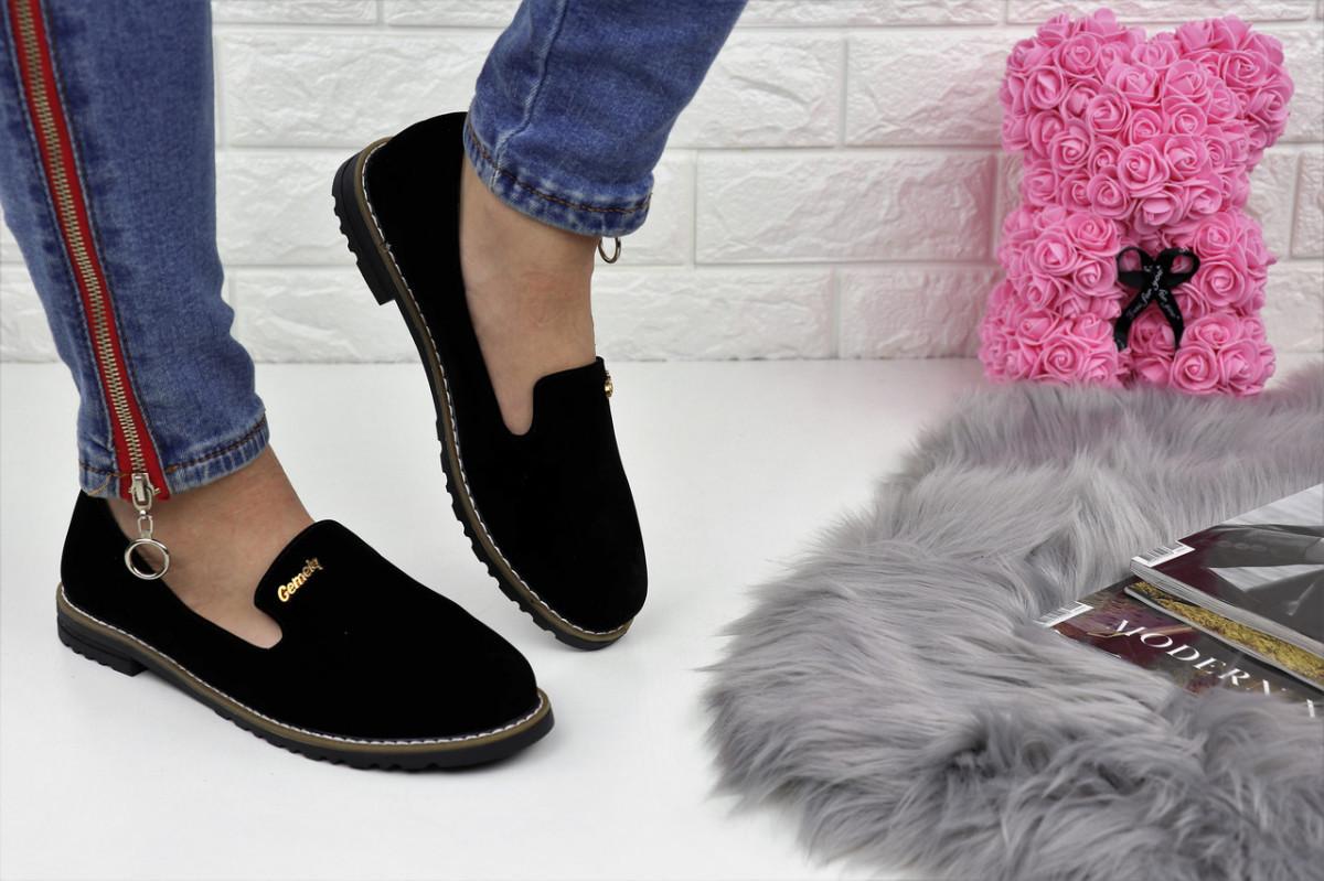 Туфли женские черные Nexty 1153