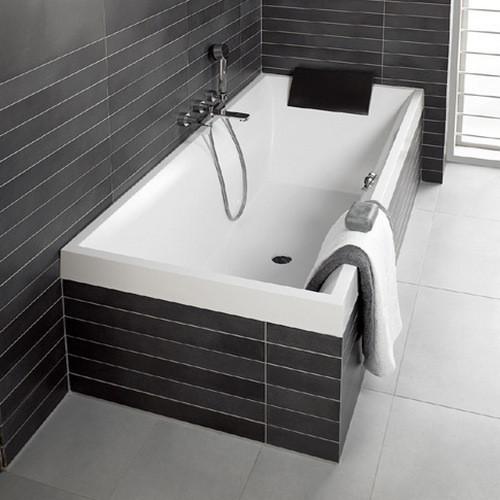 Квариловая ванна Villeroy & Boch Squaro 180x80 UBQ180SQR2V-01