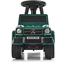 Машинка - толокар Mercedes (Bambi JQ663-10) Зеленый, фото 2