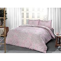 Постельное белье Tac ранфорс - Mirabel pembe v03 розовый евро