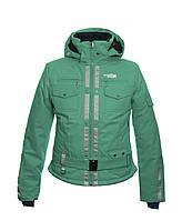 Жіноча гірськолижна куртка Runing River 46 turquoise - 187971