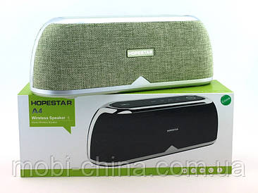 Hopestar А4 музична колонка акустична система c блютуз, зелена