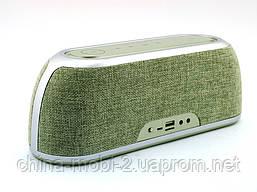 Hopestar А4 музыкальная колонка акустическая система c блютуз, зеленая, фото 2