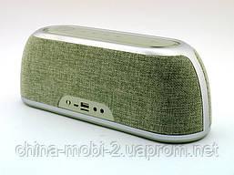 Hopestar А4 музыкальная колонка акустическая система c блютуз, зеленая, фото 3