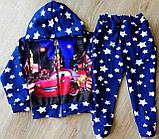 Дитячий спортивний костюм Тачки з двунити, фото 2
