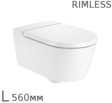 Унитаз Roca Inspira Round Rimless A346527000