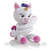 Мягкий интерактивный единорог обнимашка Fingerlings Джиджи Interactive Plush Baby Unicorn WowWee
