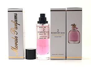 Женский аромат Rumeurt Rose 2 Morale Parfums (Румерт Роуз 2 Морал Парфюм) 30 мл