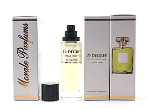 Женский аромат 19 Degree Morale Parfums (19 Дэгри Морал Парфюм) 30 мл