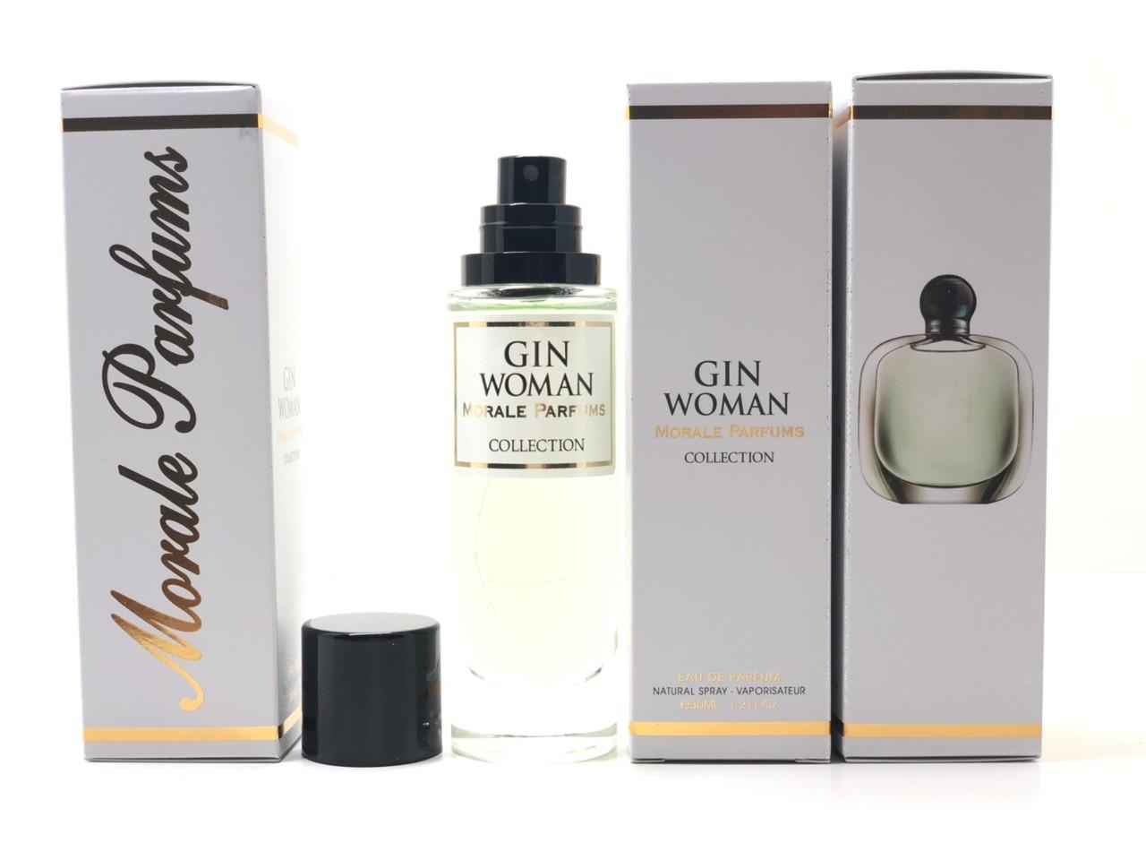 Женский аромат Gin Woman Morale Parfums (Джин Вумен Морал Парфюм) 30 мл
