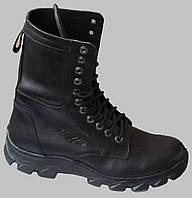 Берцы мужские кожаные на байке от производителя модель ТР1011Д