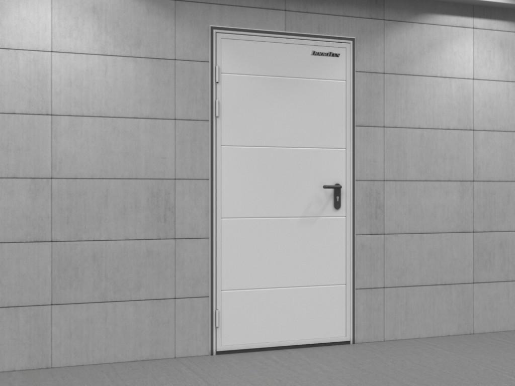 Двери технологические одностворчатые DoorHan