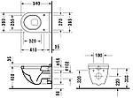 Унитаз с крышкой Duravit Starck 3 42000900A1, фото 3