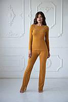 Пижамный комплект (блузон/брюки) Istanbul качество premium
