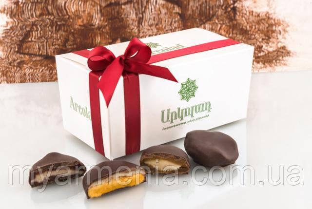 Армянская Сушеная Слива Арколад с грецким орехом в шоколаде 200г