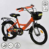"""Велосипед 16"""" дюймов 2-х колёсный G-16002 """"CORSO"""""""