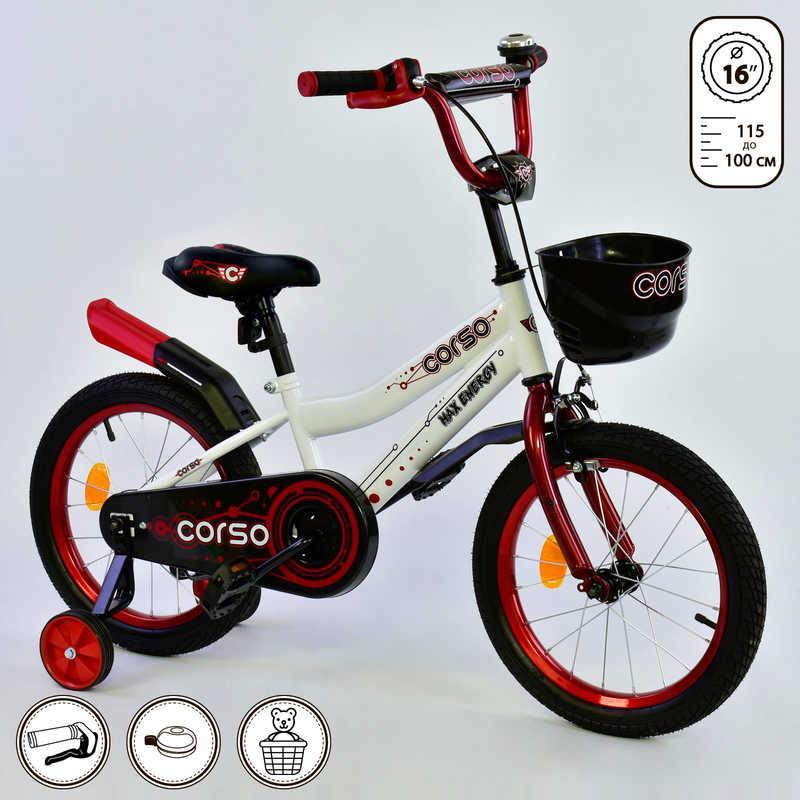 """Велосипед 16"""" дюймов 2-х колёсный R - 16070 """"CORSO"""""""