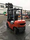 Вилочный дизельный погрузчик Toyota, 2.5т,  погрузчик Б/У купить Днепр, фото 2