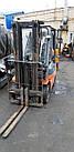 Вилочный газовый погрузчик Toyota, 1.5т,  погрузчик Б/У купить Киев, фото 3