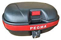 Кофр для мотоцикла (багажник)  Pegma  на два шлема