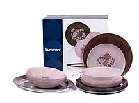 ✅ Cтоловый cервиз Luminarc Tamako Pink P9714 (19 предметов)