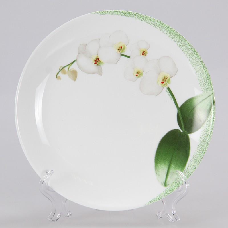 ✅ Тарелка обеденная Luminarc White Orchid N9704 (27см)