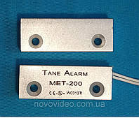 Датчик герконовый для сигнализации  TANE MET-200 в металле (под металлические двери )
