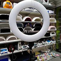 Кольцевая лампа led  SY-3161 96вт косметологическая на штативе с креплением для телефона