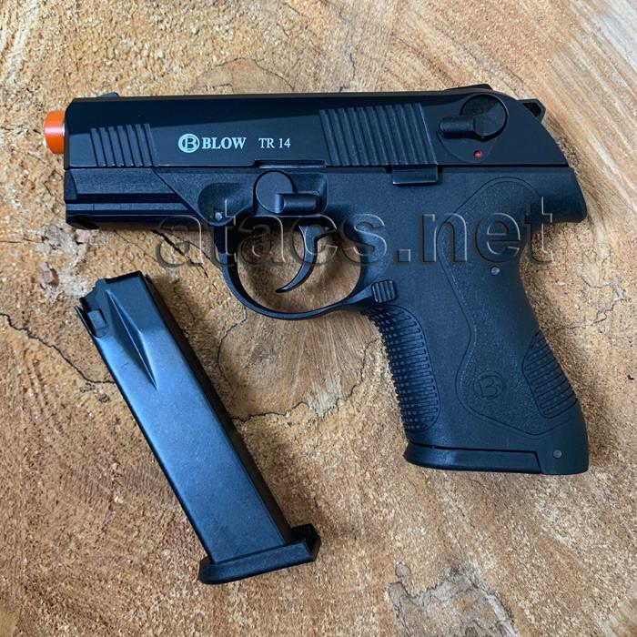 Пістолет стартовий BLOW TR 14 (CARRERA RS-30) з додатковим магазином