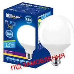 Світлодіодна лампа декоративна LED G 80 GLOBE, ПРИРОДНЬО БІЛИЙ, 12Вт, E27