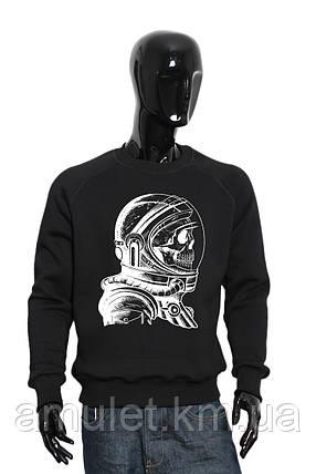 """Світшот чоловічий Скелет космонавт"""", фото 2"""