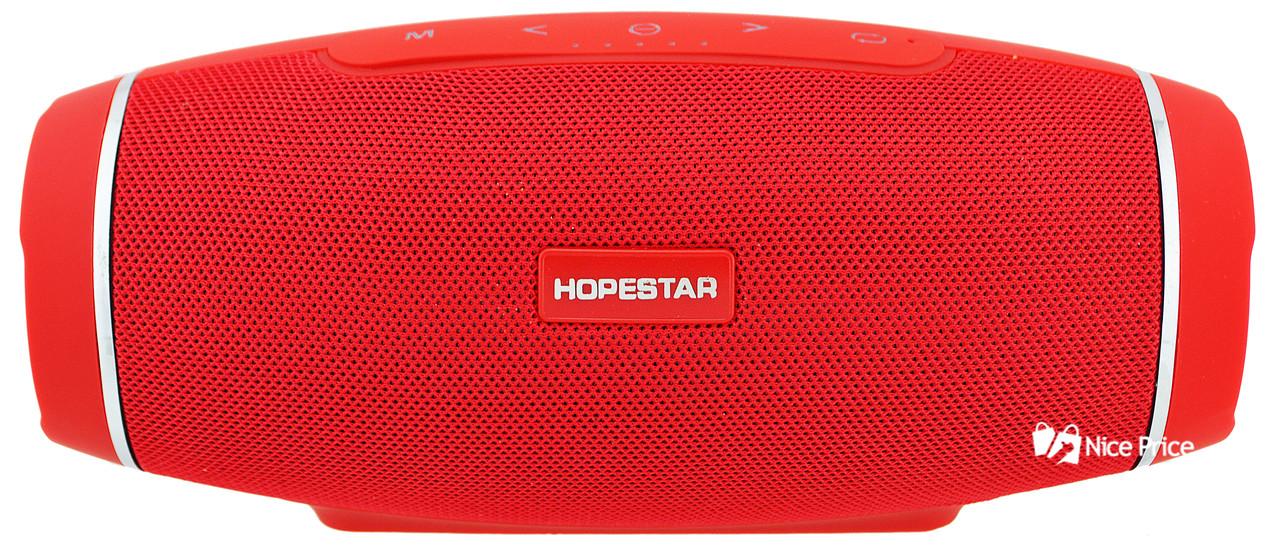 Портативная Bluetooth колонка HOPESTAR H27 (Bluetooth, MP3, AUX, USB) Red