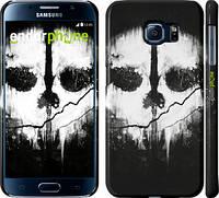"Чехол на Samsung Galaxy S6 G920 Call of Duty череп ""150c-80"""