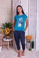 Пижама женская с капри  Nicoletta 90336, фото 1
