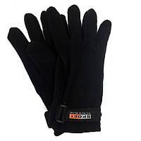 Перчатки флисовые с застежкой, размер 10